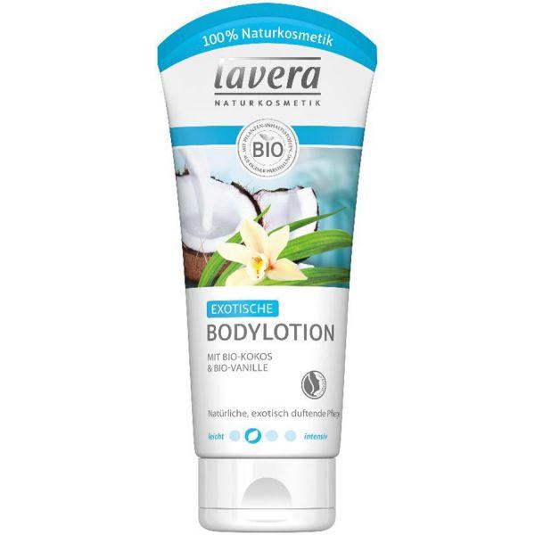 Lavera Bodylotion Exotisch Bio-Kokos und Bio-Vanille 200ml