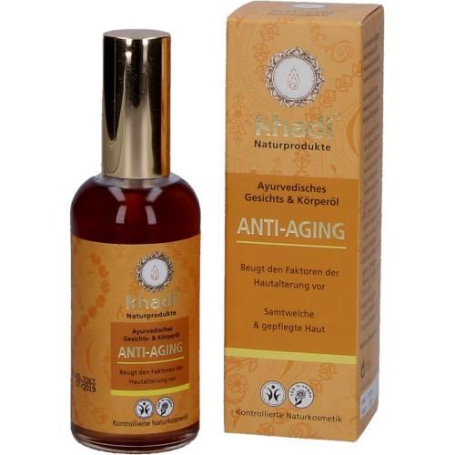 Khadi Gesichtsöl und Körperöl Anti Aging 100ml