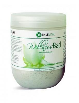 Ihle Vital Wellnessbad Dose - basisches Badesalz 1kg