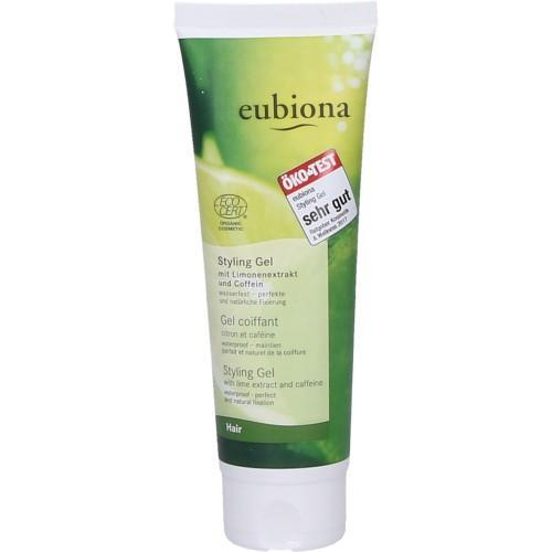 Eubiona Hair Styling Gel Limone Coffein - wasserfest 125ml