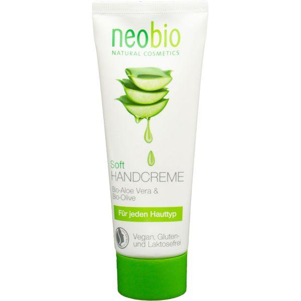 Neobio Soft Handcreme Bio-Aloe & Bio-Sheabutter 75ml