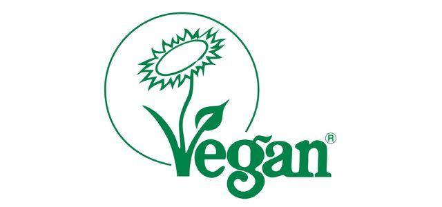 Veganblume-Siegel