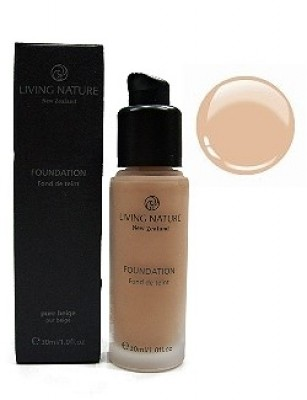 Living Nature Foundation Pure Beige - Mineral Make up 30ml
