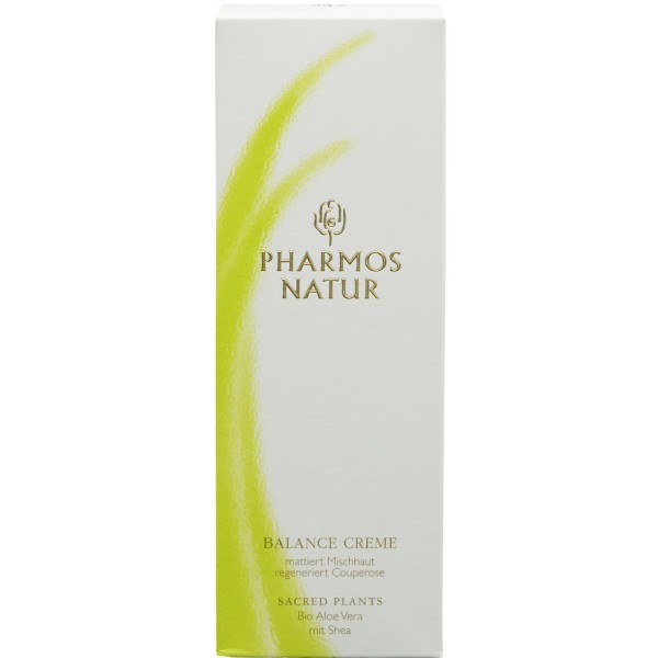 Pharmos Natur Balance-Creme Bio Aloe & Sheabutter 50ml