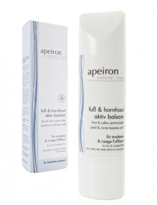 Apeiron Fuß & Hornhaut Aktiv Balsam 75ml