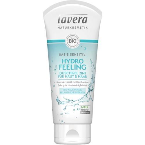 Lavera Basis Sensitiv 2in1 Duschgel für Haut und Haar Tube 200ml