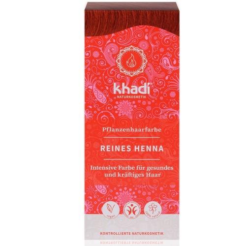 Khadi Pflanzenhaarfarbe Reines Henna 100g