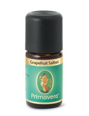 Primavera ätherische Duftmischung Grapefruit Salbei 5ml
