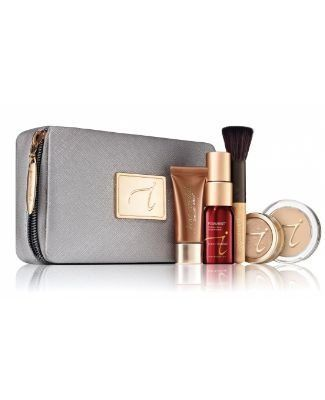 Jane Iredale Starter Kit Light Warm Silk - Mineral Make up