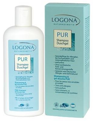 Logona PUR Shampoo + Duschgel ohne Duftstoffe 250ml