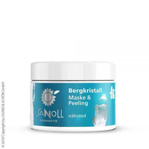 Sanoll Maske und Peeling mit Traubenkernmehl 30ml