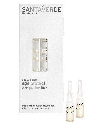 Santaverde Aloe Vera Age Protect Ampullenkur 10x1ml