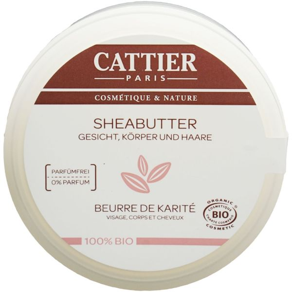 Cattier Bio Sheabutter 100g