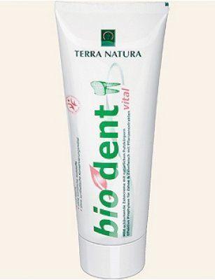 Terra Natura Zahnpasta biodent vital 75ml