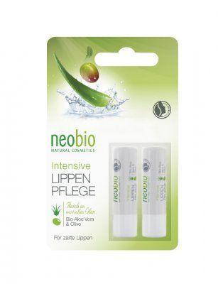 Neobio Intensive Lippenpflege - Lippenpflegestift 2x48g