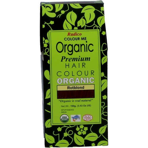 Radico Biologische Pflanzenhaarfarbe Premium Reddish Blonde 100g