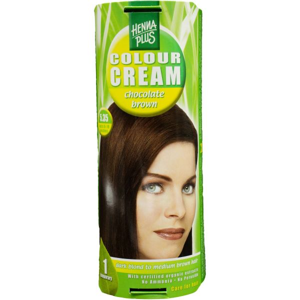 Henna Plus Colour Cream Chocolate brown 5.35 60ml