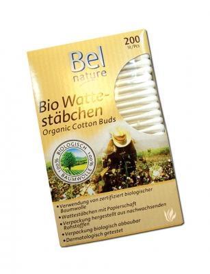 Belawa Bio Baumwoll Wattestäbchen 200 Stück