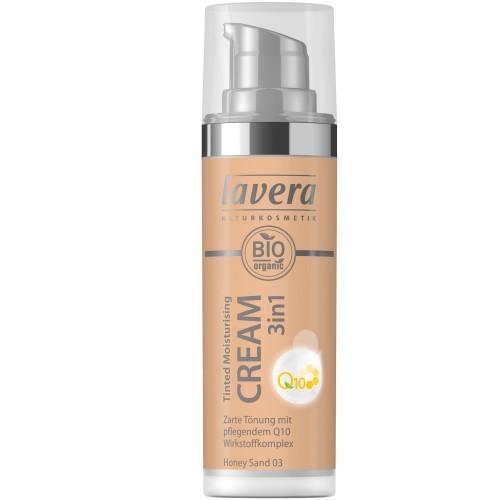 Lavera Tinted Moisturizing Cream 3in1 Q10 - Honey Sand 03 getönte Feuchtigkeitscreme 30ml