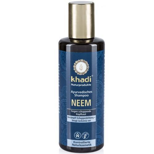 Khadi Ayurvedisches Shampoo Neem Anti Schuppen