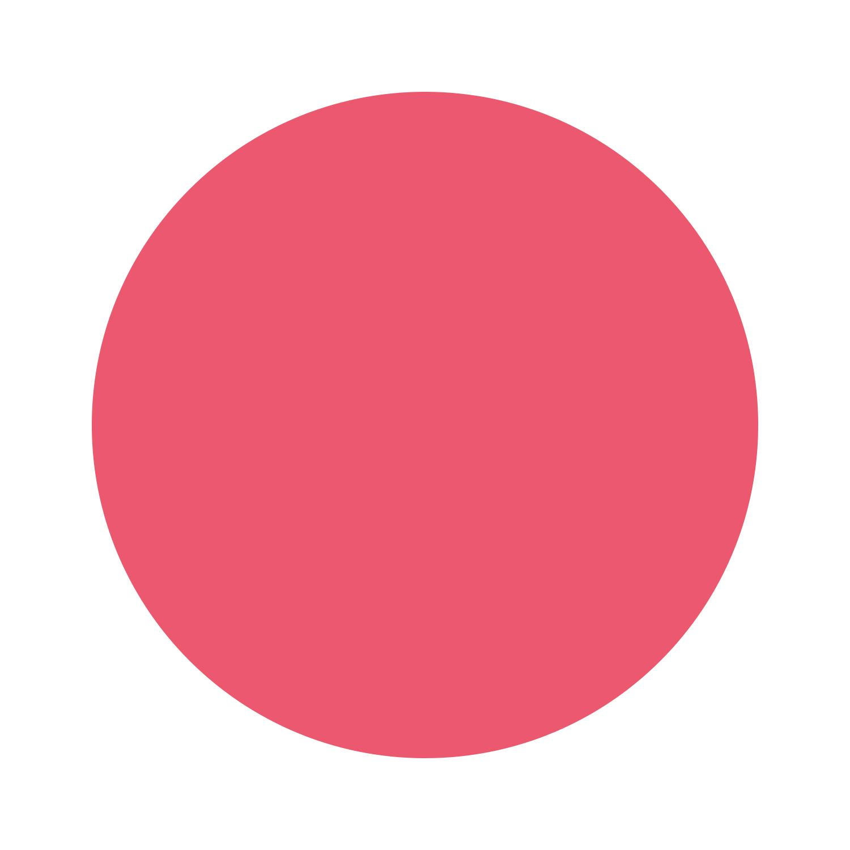 Charming - cremiges, knalliges Kaugummi-Pink