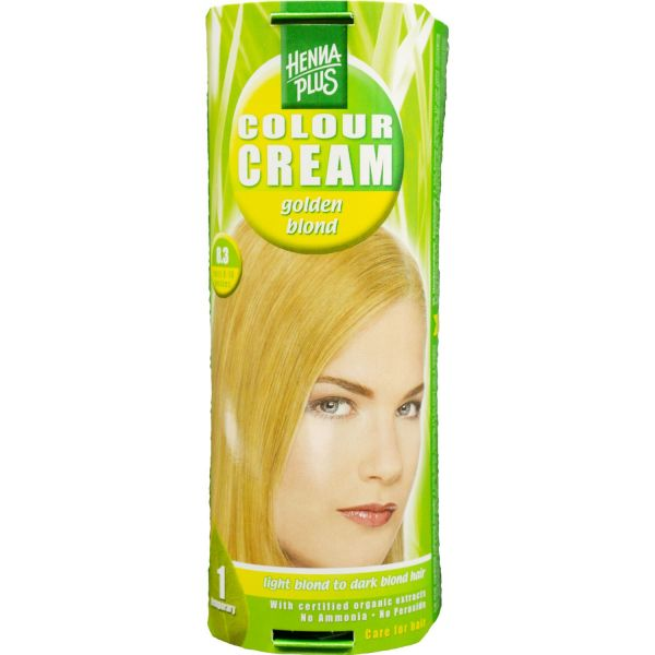 Henna Plus Colour Cream Golden Blond 8.3 60ml
