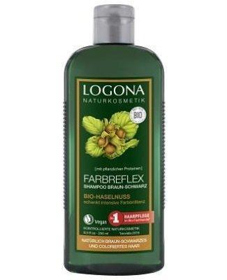 Logona Farbreflex Shampoo Haselnuss braun-schwarzes Haar 250ml
