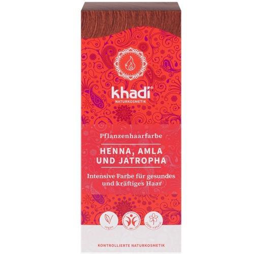 Khadi Pflanzenhaarfarbe Henna Amla & Jatropha 100g