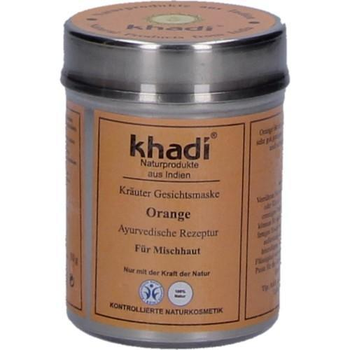 Khadi Gesichtsmaske Orange 50g