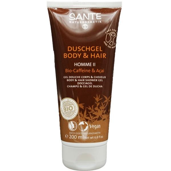 Sante Homme Deux Duschgel Body & Hair - Dusch-Shampoo 200ml