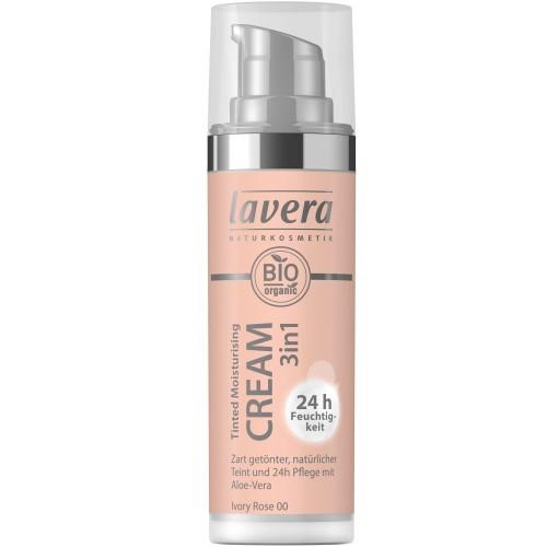 Lavera Tinted Moisturizing Cream - Ivory Rose 00 getönte Feuchtigkeitscreme 30ml