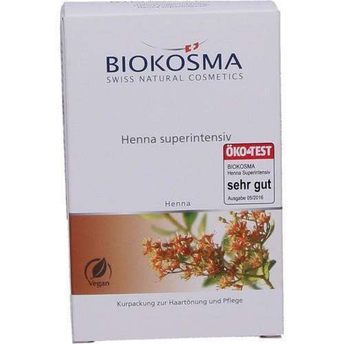 Biokosma Henna Pulver rot super Care 100g