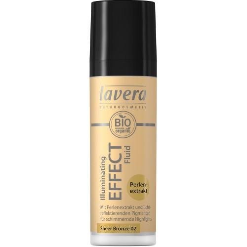 Lavera Illuminating Effect Fluid 02 - Sheer Bronze 30ml