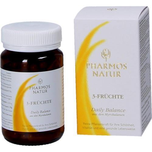 Pharmos Natur 3 Früchte Entschlackungskapseln 100 Stück