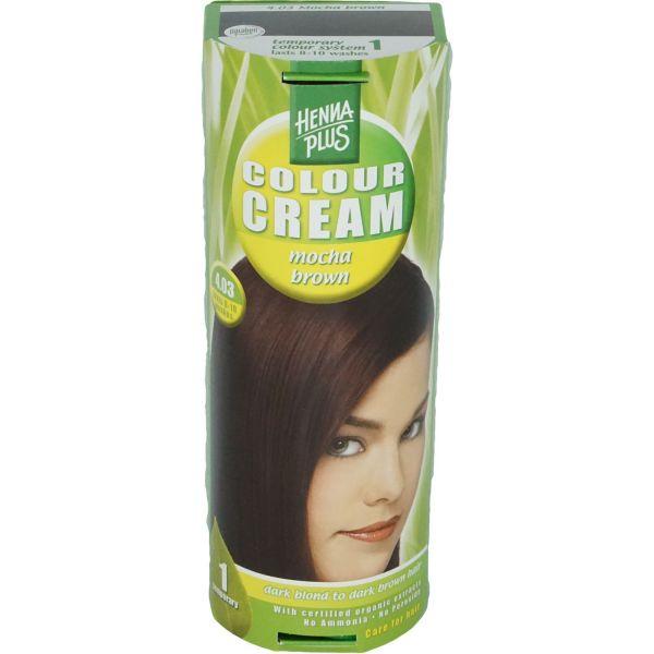 Henna Plus Colour Cream Mocha Braun 4.03 60ml