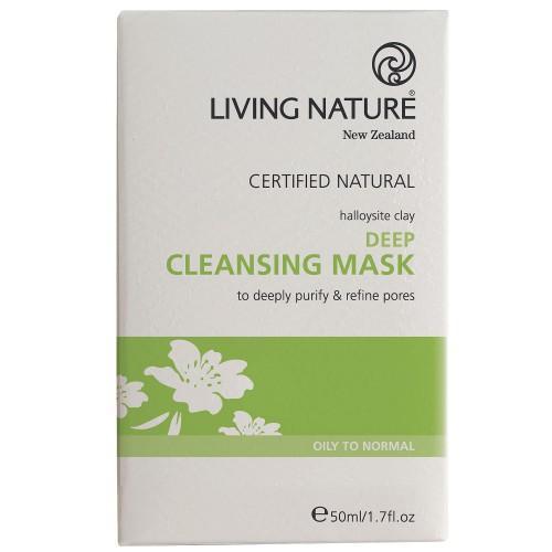 Living Nature tief wirkende Reinigungsmaske 50ml