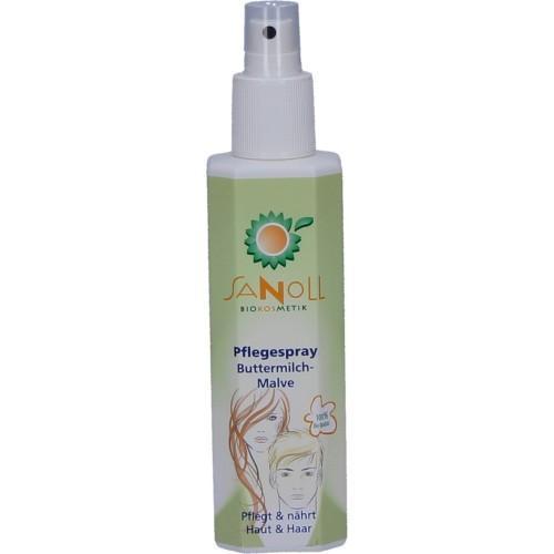 Sanoll Pflegespray Buttermilch Malve - Haut und Haar 150ml