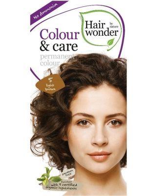 Hairwonder Colour & Care Light Brown 5 - Coloration 100ml