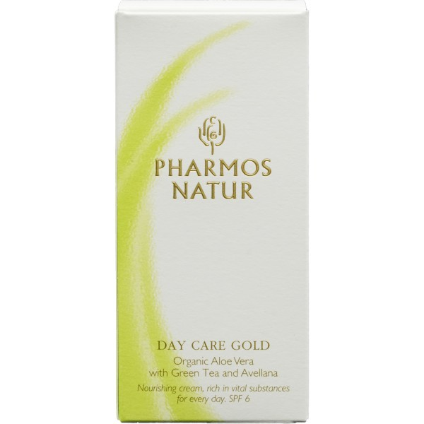 Pharmos Natur Tagespflege Gold Bio Aloe 50ml