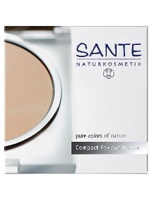 Sante Kompaktpuder Light Sand Nr.02 - Compact Powder 9g