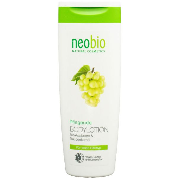 Neobio Pflegende Bodylotion Bio-Aloe & Bio-Acai 250ml