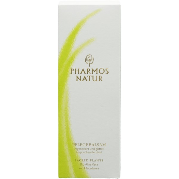 Pharmos Natur Pflegebalsam Bio Aloe mit Macadamia 50ml